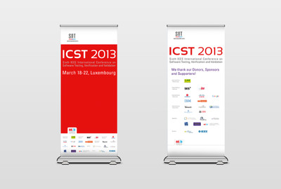 ICST congress Roll up Displays